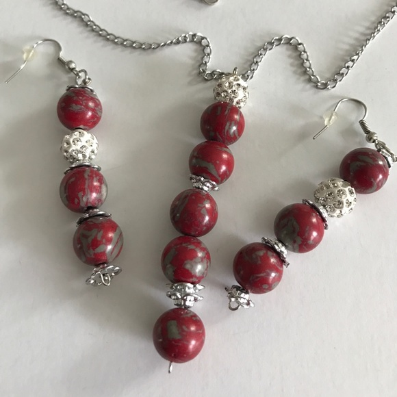 Dragon Agate Pendant-Dragon vein Agate Jewelry-Red Agate Necklace-hand crafted Jewelry-red stone jewelry Dragon Pendant wire wrapped-agate